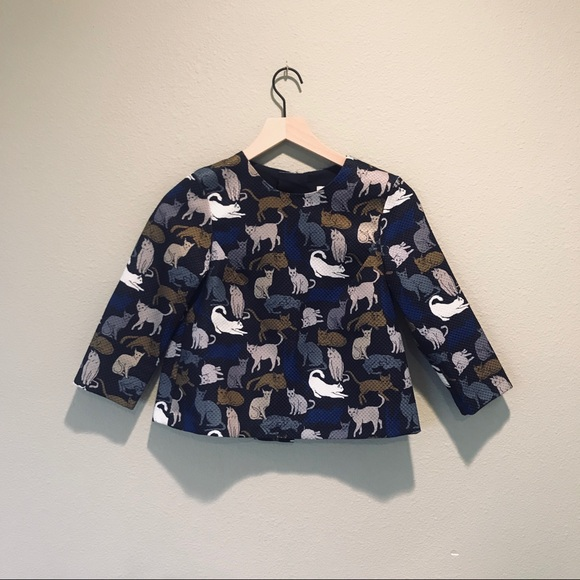 H&M Tops - H&M Cat Blouse